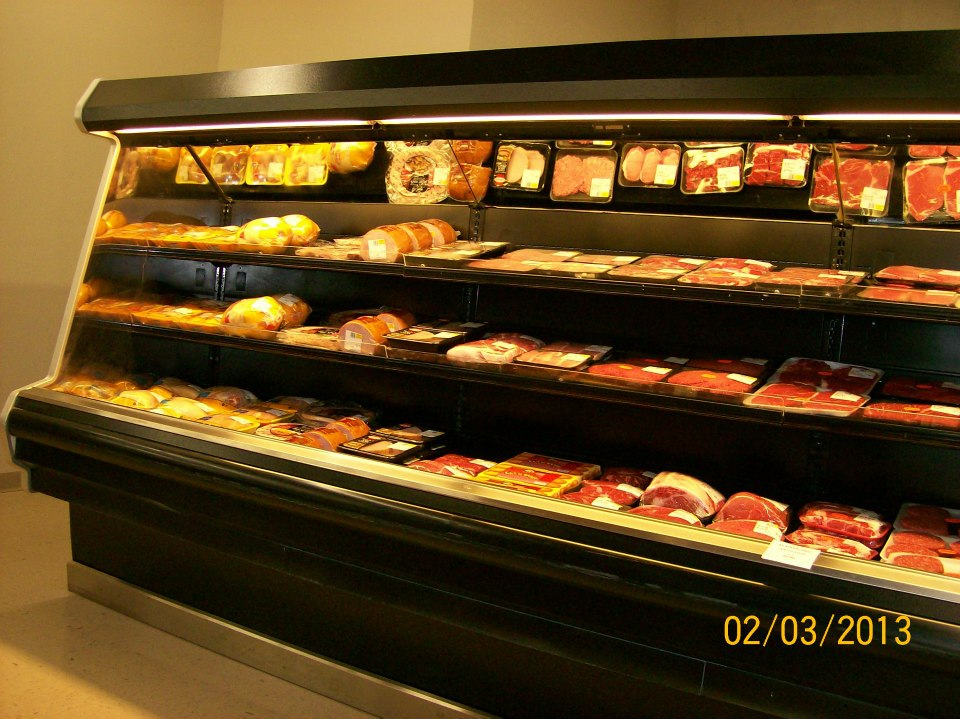 meat display